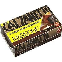 Calzanetto Spugna Autolucidante con Olii Raffinati di Silicone, Marrone