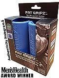Fat Gripz Ultimate Hantelgriffe, Ø 5,7cm, blau, 854078001014