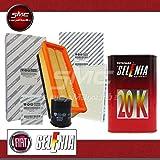 Schneidsatz 3Filter + 4lt Öl Selenia Fiat 5001.21.4Benzin/LPG