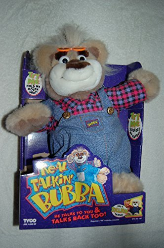 tyco-1997-real-talkin-talking-redneck-farmer-bubba-18-plush-toy-doll-by-tyco