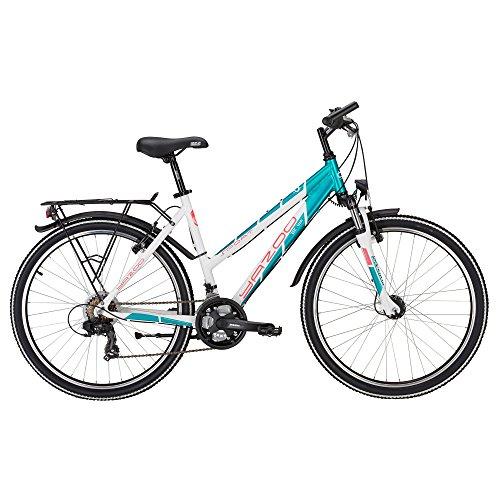 Yazoo Sport 2.6 Mädchen 26 Zoll 21 Gang Kettenschaltung Jugend Fahrrad 2017, Rahmenhöhe:38 cm, Farbe:türkis