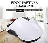 QUINEAR Elektrische Fußmassagegeräte Shiatsu Luftdruck Fussmassagegerät Mit 6 Luftdruckstufen Und 2 Knetgeschwindigkeiten Und 2 Temperatur Für Unterschiedliche Personen Vergleich