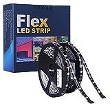 ESO Led Strip Lights Kit 32,8 Ft (10m) 300leds Wasserdicht 5050 SMD RGB LED Flexible Lights mit 44key ir Controller und Netzteil für Haus, Küche, Trucks, Sitting Room und Schlafzimmer Dekoration