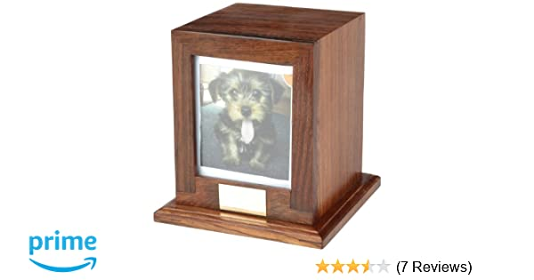 Urns UK Wooden Pet Cremation Urn For Ashes, Bootle UU540014A