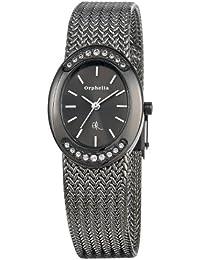 Orphelia Damen-Armbanduhr Analog Quarz Edelstahl OR22270744