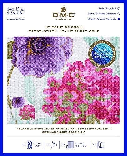 DMC Rainbow Samen Blumen V Set