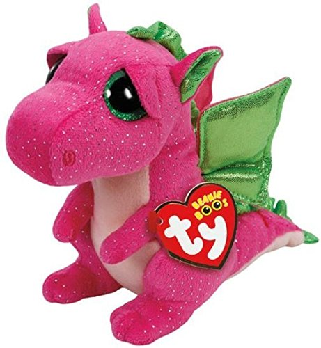 Ty Llavero Dragon Rosa, 8,5 cm (35031)
