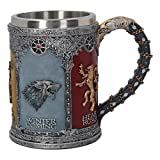 Jeu de lanceur Thrones luxe décoration gris 600ml crête royale 3D