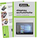 dipos I 2X Schutzfolie matt passend für Dell Latitude 5285 Folie Displayschutzfolie