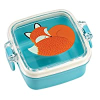 dotcomgiftshop Square Mini Snack Pot - Choice Of Design