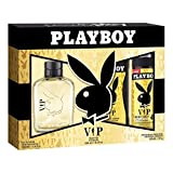 Playboy VIP Set Eau De Cologne, Deodorant and Shower Gel, 250 ml
