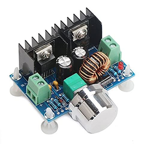 DROK® DC Buck Converter Voltage Regulator, DC 4-40V to 1.25-36V 8A Step Down Converter, 200W High Power Voltage Regulation Board, Volt Stepping Down Module