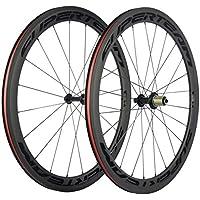FidgetGear - Pegatina de Papel de Carbono para Rueda de Bicicleta de Carretera R36 (50