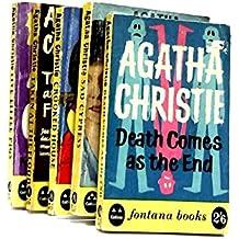 Set of 5 Agatha Christie Novels Vintage Paperbacks