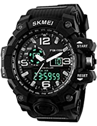 Upto 85% Off On Skmei Chronograph Analogue Digital Sport Men's Watches low price image 5