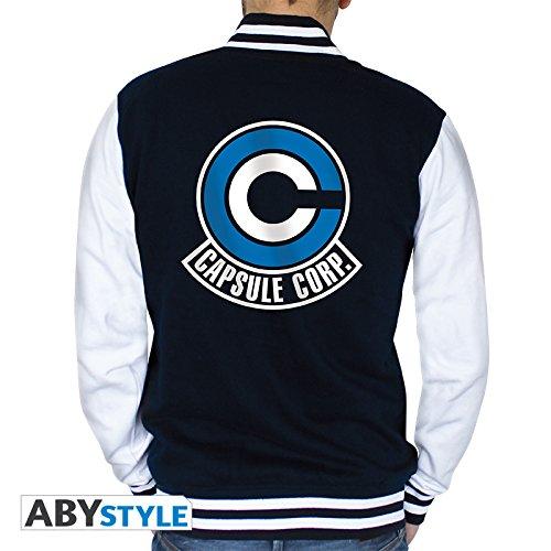 ABYstyle abystyleabyswe028-xxl Abysse Dragon Ball Capsule Corp Herren Jacke (2x große)