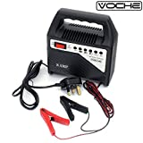 Voche® 6V & 12V 8 Amp Compact Car, Motorcycle & Lawnmower Battery Fast Charger - Voche® - amazon.co.uk