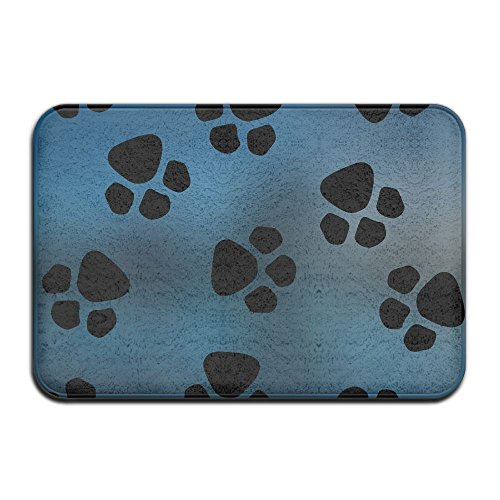 Hund Paw Prints Muster Mats Outdoor Fußmatten