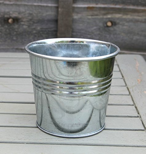 galvanized-zinc-tin-metal-bucket-herb-flower-pots-planter-in-different-sizes-13cm-without-handle