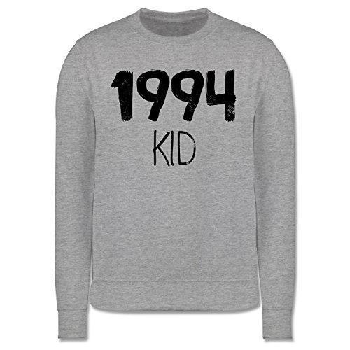 Geburtstag - 1994 KID - Herren Premium Pullover Grau Meliert