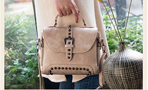 ZXH neue Niet Handtaschen Mode Handtasche F