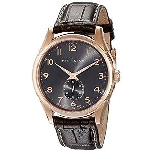 Hamilton Reloj Analogico para Hombre de Cuarzo con Correa en Cuero H38441583