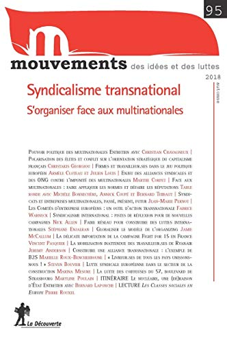 Syndicalisme transnational : s'organiser et gagner face aux multinationales par REVUE MOUVEMENTS