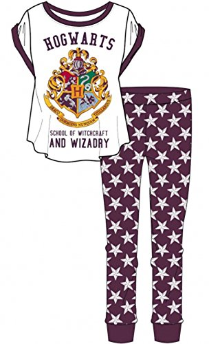 Ladies Official Harry Potter Hogwarts Pyjama Set - 51l 2B K4wM8L - Ladies Official Harry Potter Hogwarts Pyjama Set