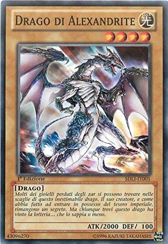 Yu-Gi-Oh! - SDLI-IT001 - Drago Di Alexandrite - Struckture Deck : Reame della Luce - 1st Edition - Comune