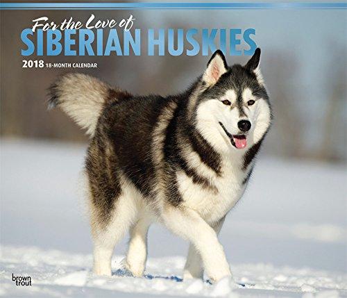 Siberian Huskies - For the love of - Sibirische Huskies 2018 - 18-Monatskalender mit freier DogDays-App: Original BrownTrout-Kalender - Deluxe [Mehrsprachig] [Kalender] (Deluxe-Kalender)
