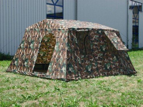 Mil-Tec Woodland Tente pour 6 Personnes Camouflage