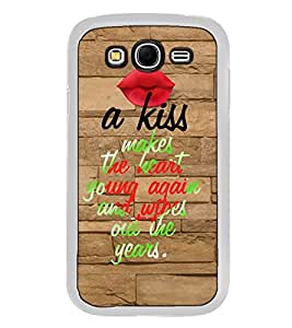 Fuson Designer Back Case Cover for Samsung Galaxy Grand I9082 :: Samsung Galaxy Grand Z I9082Z :: Samsung Galaxy Grand Duos I9080 I9082 (heart young again and wipes out)