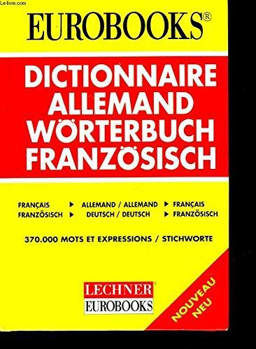 DICTIONNAIRE D'ALLEMAND. Langenscheidt, apprendre l'allemand par l'allemand