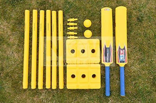 Kit de Cricket pour le Jardin - Super Résistant [Net World Sports]