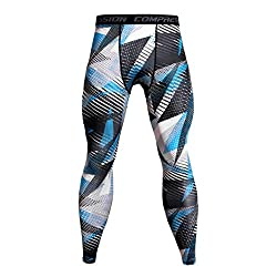 Gillberry Mens Pants Mens Joggers Pants Gym Workout Running Trousers Casual Trousers Sports Pants 26 Blue