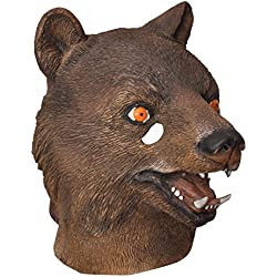 Ciao 30829 - Máscara de látex, modelo oso