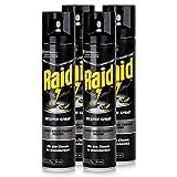 Raid Wespen-Spray 300ml - Für den Einsatz im Innenbereich - Wirkt gegen einzelne Wespen (4er Pack)