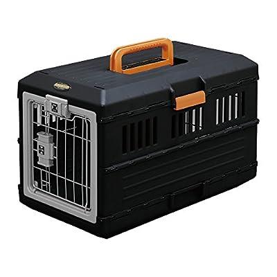 Iris 530841.0 Pet Transport Box 12 kg, Black