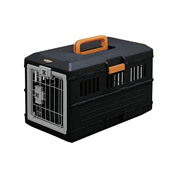 Iris-5308410-Pet-Transport-Box-12-kg-Black