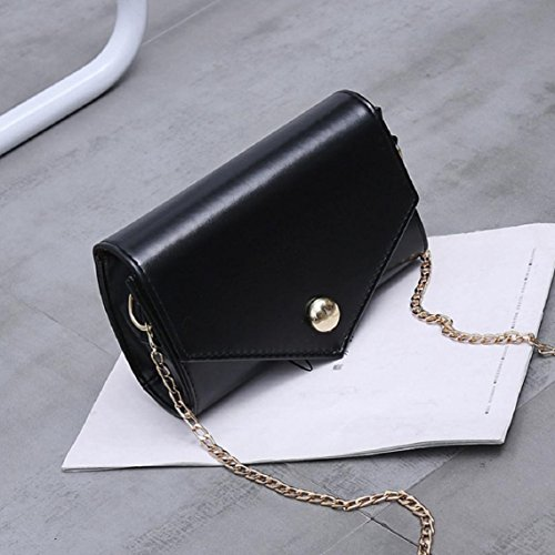 BZLine® Mode Small Shoulder Bag Shoulder Bag Women Bag Handbag Schwarz