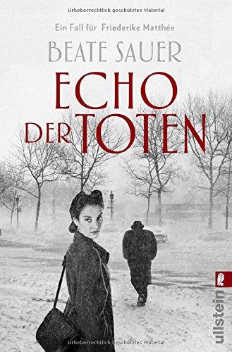 Buchseite und Rezensionen zu 'Echo der Toten' von Beate Sauer