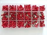 SK-DV 300 Kabelschuhe Sortiment rot für Kabel mit 0,5mm² - 1,5 mm² SK