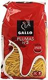 Pasta Gallo Plumas Nº3 - 0,5 kg