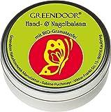 Greendoor Handbalsam / Handcreme ideal für sehr trockene Haut mit BIO Granatapfel, Naturkosmetik...