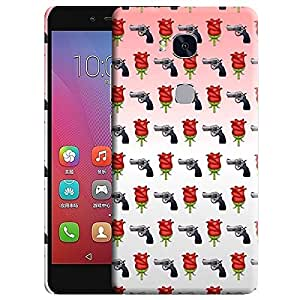 Theskinmantra Guns and roses back cover for Huawei Honor 5X