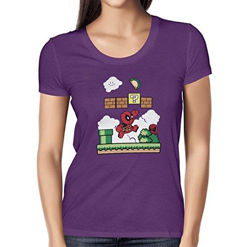 TEXLAB - Super Pool World - Damen T-Shirt Violett