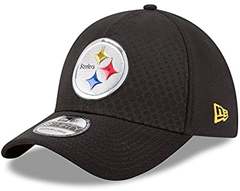 New Era - Casquette NFL Pittsburgh Steelers 2017 On Field Color Rush 39THIRTY taille casquette - M/L (56-61cm)