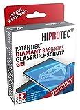 HIPROTEC - Garantierter* Schutz gegen Display-Glasbruch: Displayschutz für alle Smartphones wie iPhone, Samsung, Huawai, LG, HTC | 9,9H | antibakteriell | patentiertes Schweizer Qualitätsprodukt!