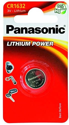 Panasonic CR1632 Lithium Knopfzellen Batterie