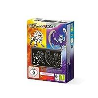 Console New Nintendo 3DS XL : noir - Pokémon Soleil & Lune - édition limitée [console seule]